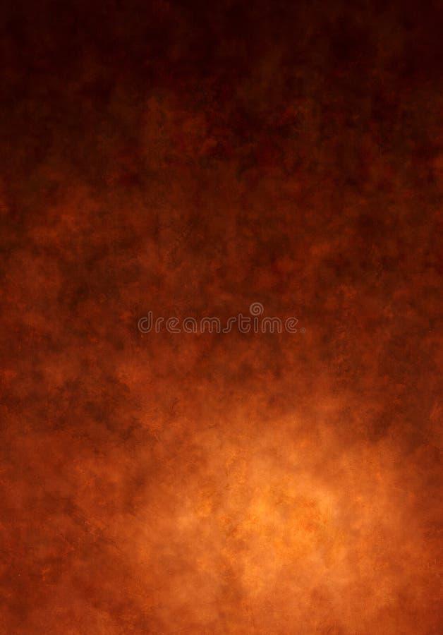 Fondo pintado Brown caliente de la lona fotos de archivo