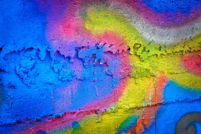 Fondo pintado de la pared fotografía de archivo libre de regalías