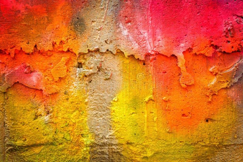 Fondo pintado de la pared imagen de archivo libre de regalías