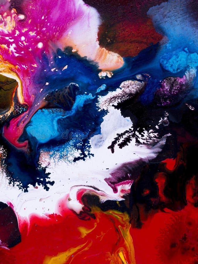 Fondo pintado a mano abstracto libre illustration