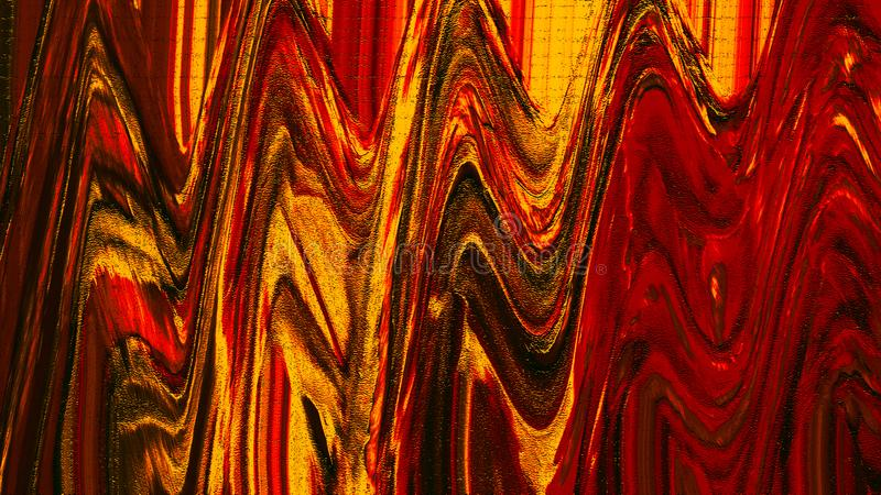 Fondo pintado a mano abstracto creativo Movimientos de pintura de acrílico en lona Arte moderno libre illustration