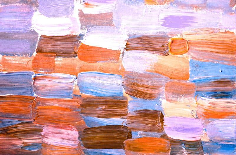 Fondo pintado a mano abstracto creativo, papel pintado, textura Composición abstracta libre illustration