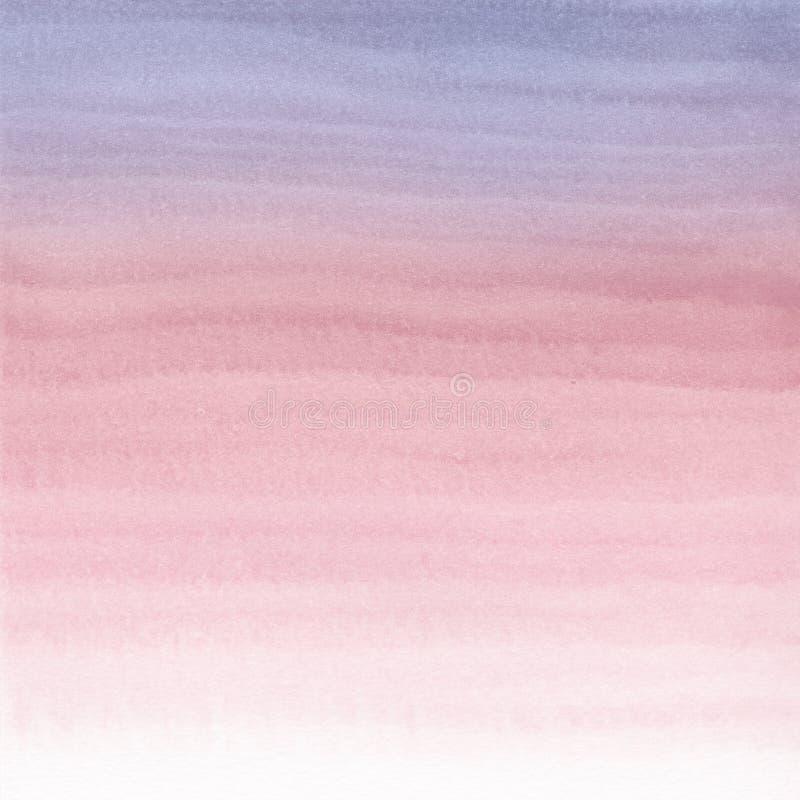 Fondo pintado a mano de la acuarela abstracta stock de ilustración