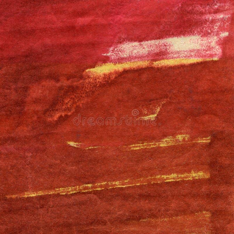 Fondo pintado a mano de los artes de la acuarela imágenes de archivo libres de regalías