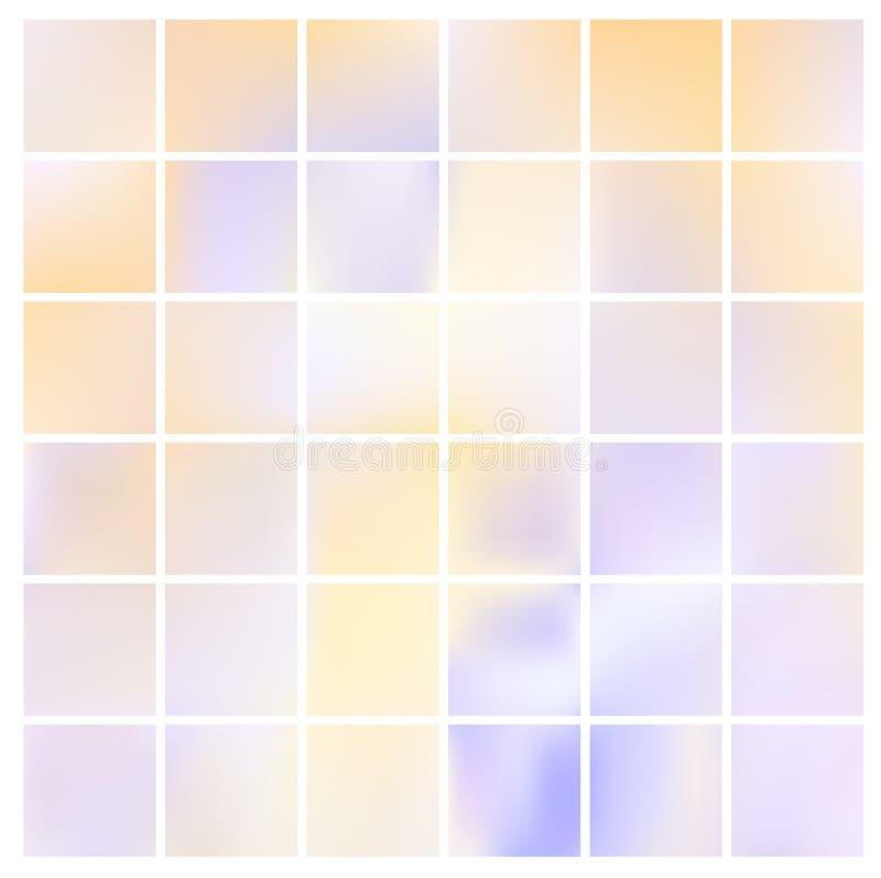 Fondo pintado a mano del vector del punto en colores pastel clásico elegante artístico abstracto de la acuarela El vintage se des ilustración del vector