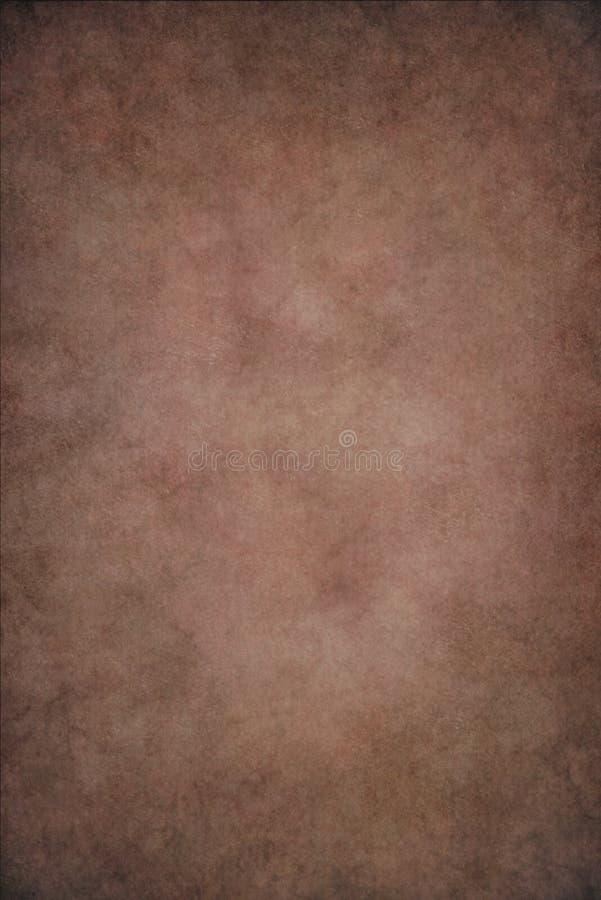 Fondo pintado a mano del vietado rojo de Brown fotografía de archivo