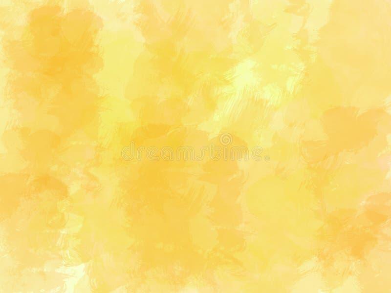 Fondo pintado petróleo del cepillo stock de ilustración