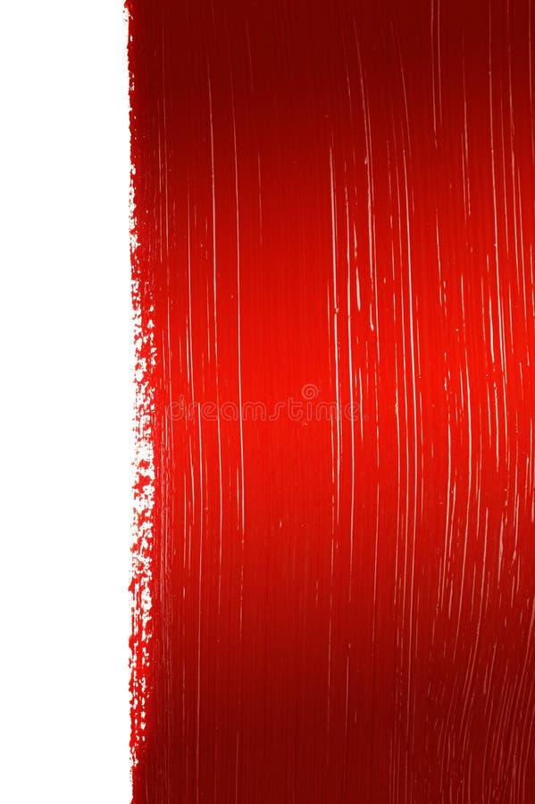Fondo pintado rojo fotos de archivo libres de regalías