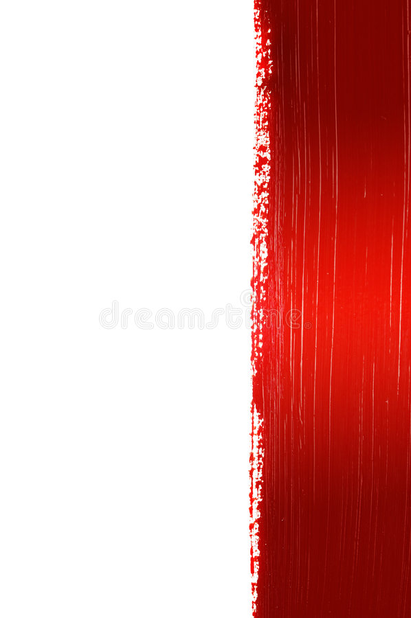 Fondo pintado rojo imágenes de archivo libres de regalías