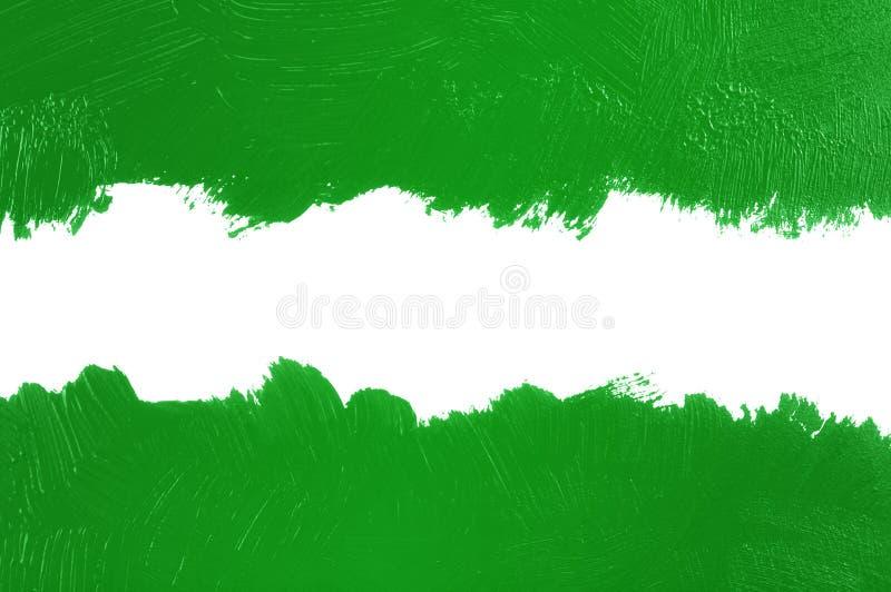 Fondo pintado verde imagen de archivo