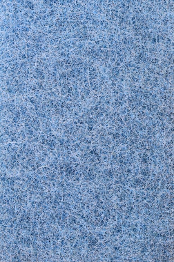Fondo plástico azul de la textura de las fibras fotos de archivo libres de regalías