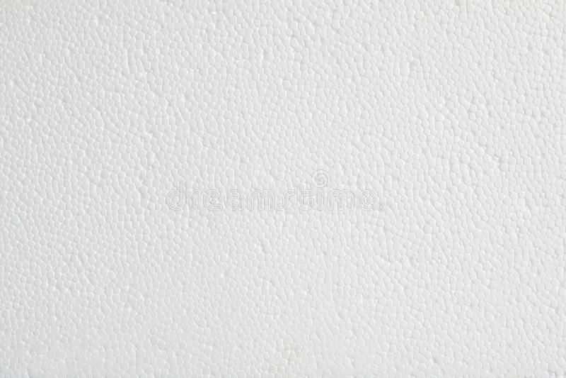 Fondo plástico de la textura de la espuma blanca foto de archivo libre de regalías