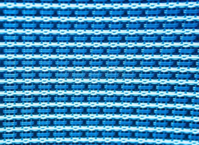 Fondo plástico del modelo de la textura del punto azul y blanco foto de archivo