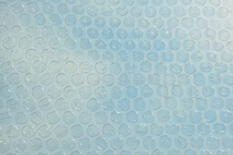 Fondo plástico del modelo del plástico de burbujas fotos de archivo libres de regalías