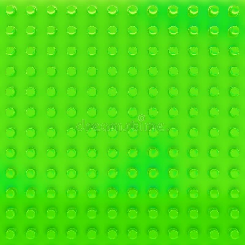 Fondo plástico verde stock de ilustración