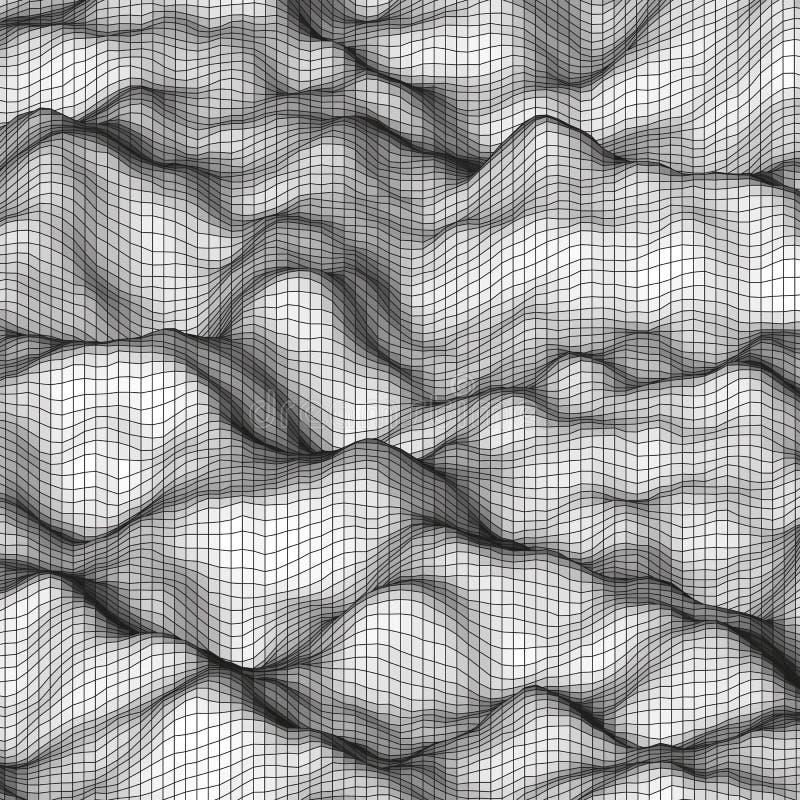 Fondo poligonal abstracto blanco stock de ilustración