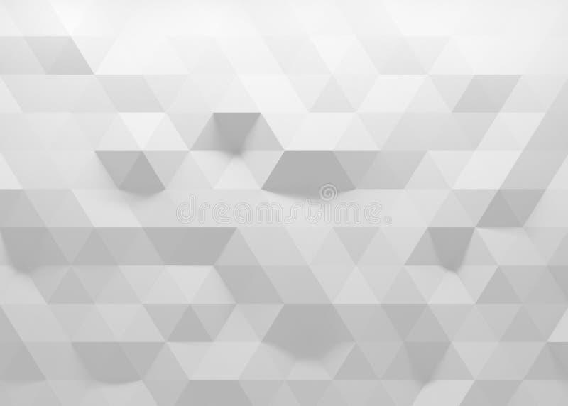 fondo poligonal 3D libre illustration