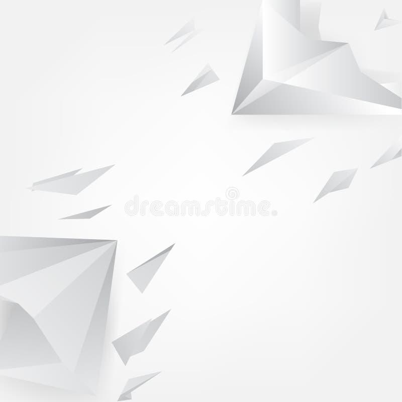 Fondo poligonal de Rocket libre illustration