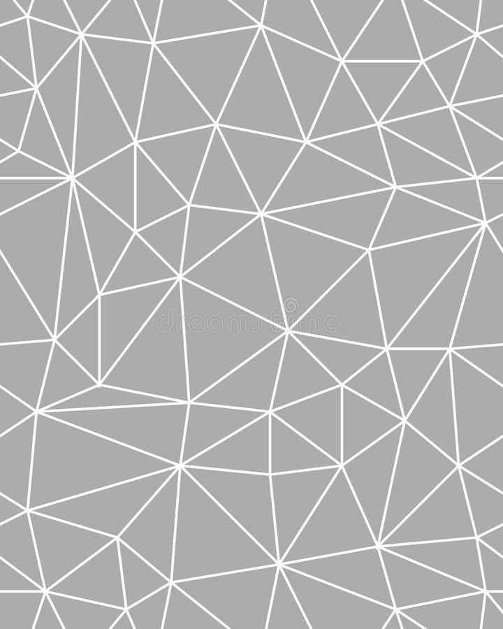 Fondo poligonal incons?til del modelo stock de ilustración