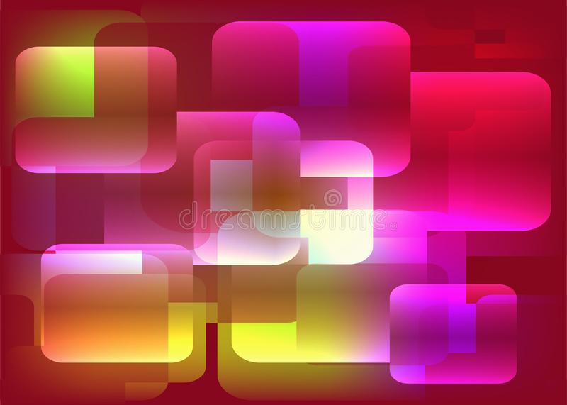 Fondo poligonale astratto Modello elegante dell'elemento di progettazione illustrazione di stock
