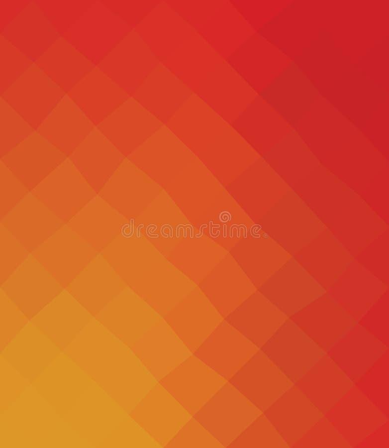 Fondo polivinílico bajo caleidoscópico del mosaico del estilo del triángulo stock de ilustración