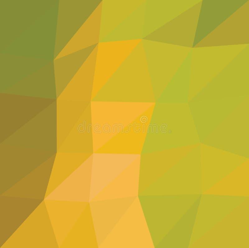 Fondo polivinílico bajo caleidoscópico del mosaico del estilo del triángulo fotografía de archivo libre de regalías