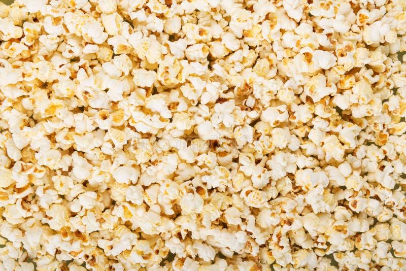 Fondo Popcorn salato delizioso immagini stock libere da diritti