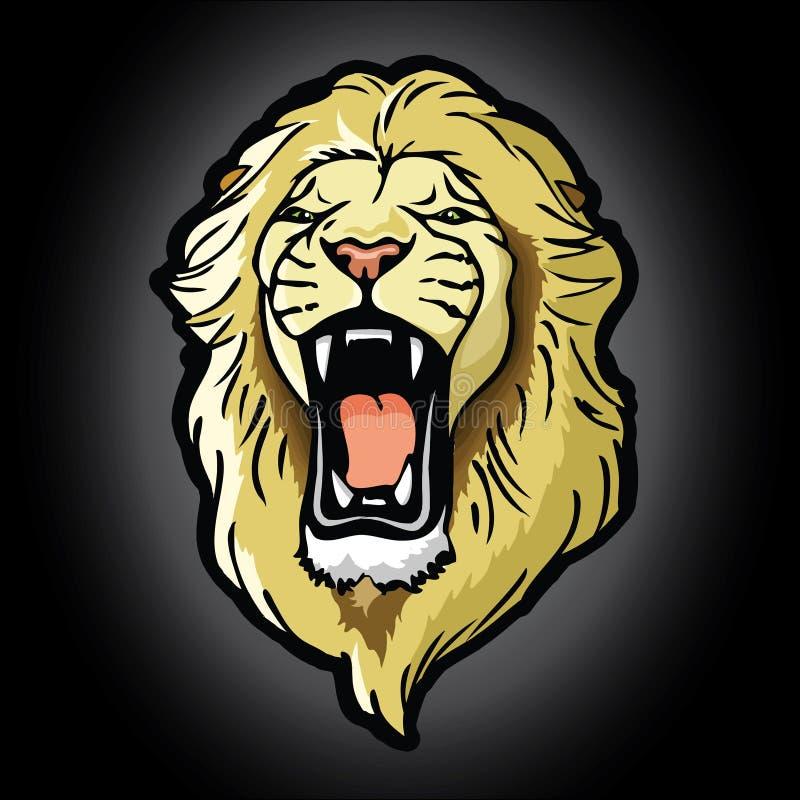 Fondo principal del león libre illustration