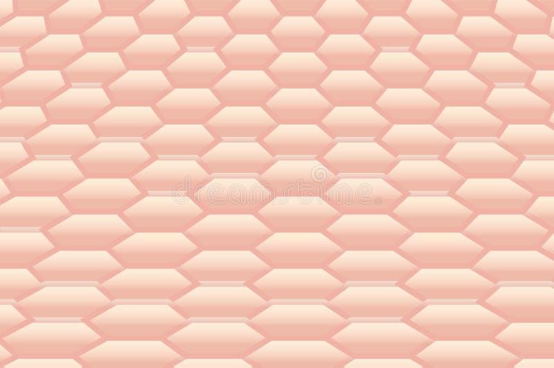 Fondo profundo de la textura de la piel libre illustration