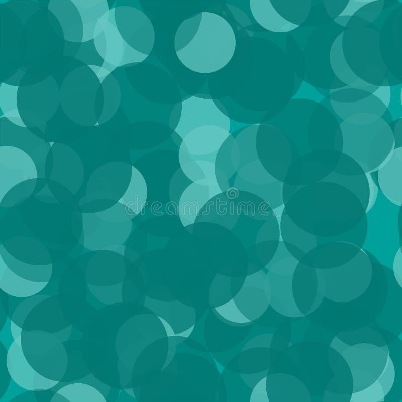 Fondo punteado con los círculos, puntos, punto Ilustración inconsútil del vector libre illustration