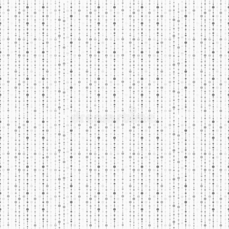 Fondo punteggiato del mosaico - senza cuciture illustrazione vettoriale