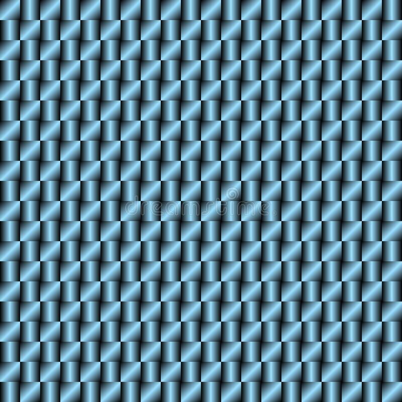 Fondo quadrato astratto con la pendenza nera e blu metallica immagine stock libera da diritti