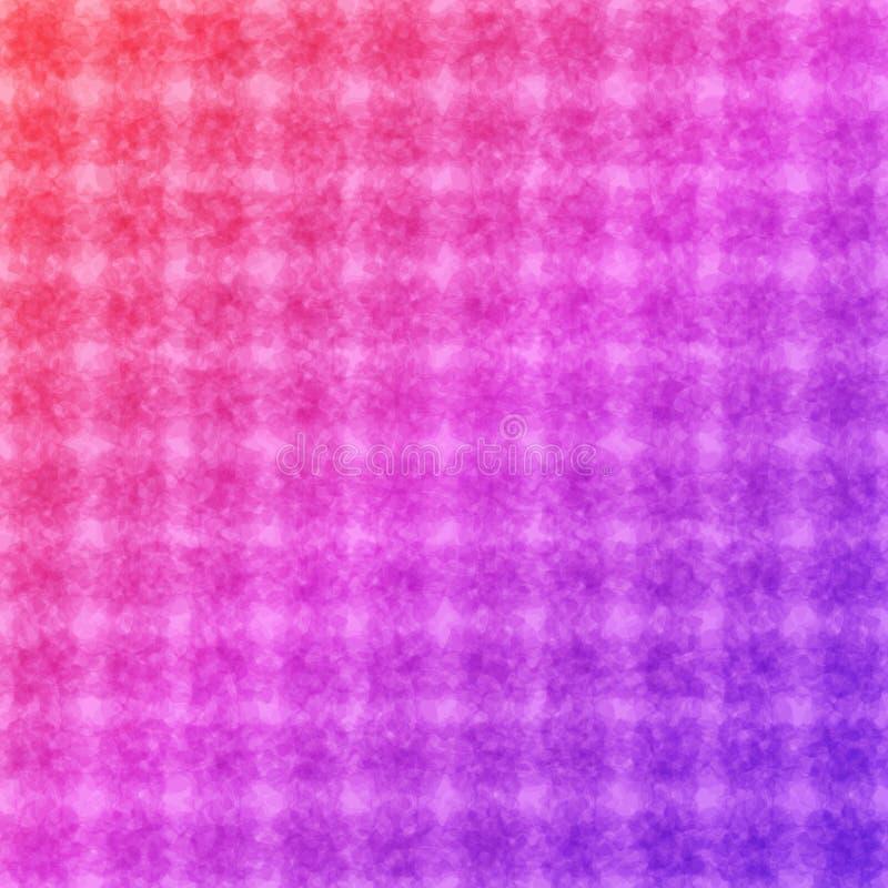 Fondo a quadretti rosa per l'applicazione universale illustrazione vettoriale