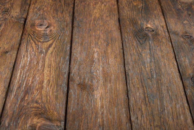 Fondo rústico de madera de la tabla de la textura fotos de archivo