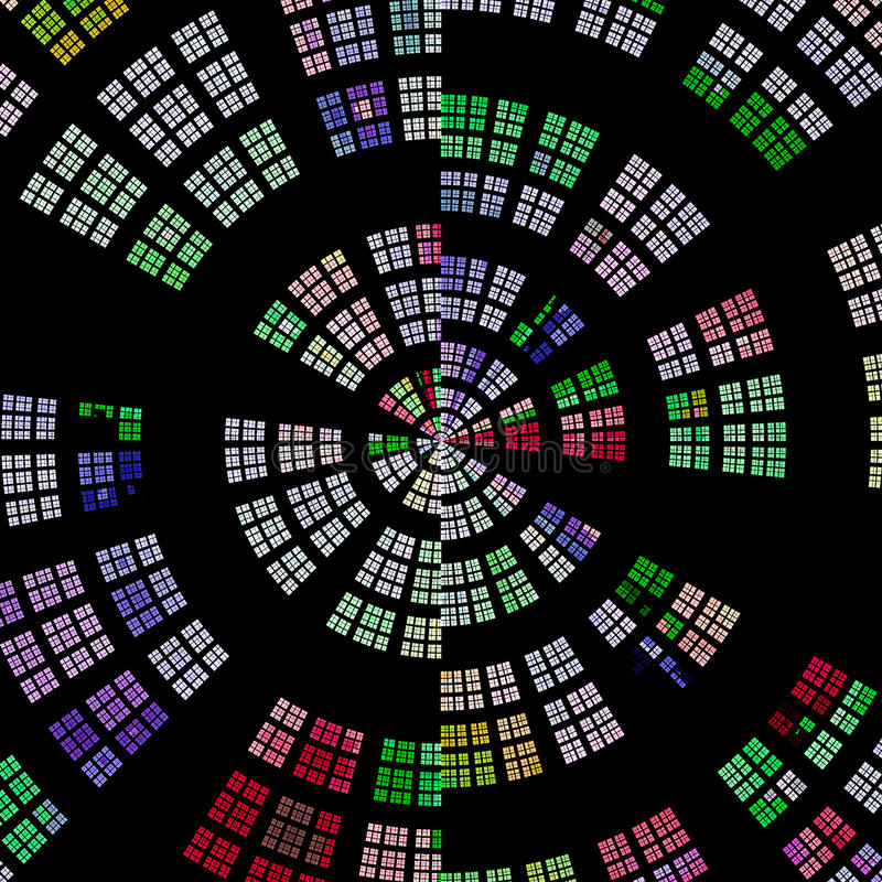 Fondo radial abstracto foto de archivo libre de regalías