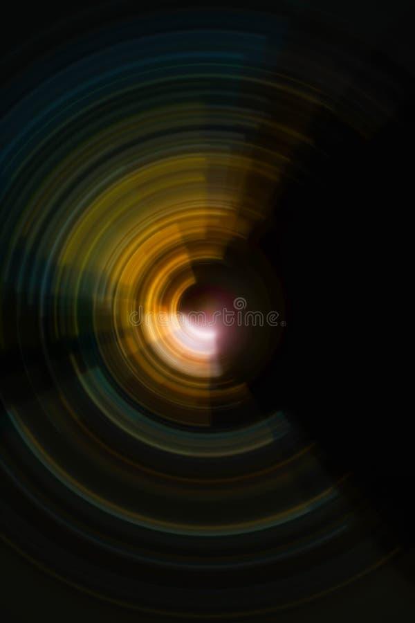 Fondo radial espiral colorido del movimiento foto de archivo