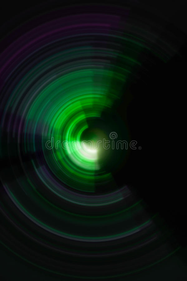 Fondo radial espiral colorido del movimiento imagenes de archivo