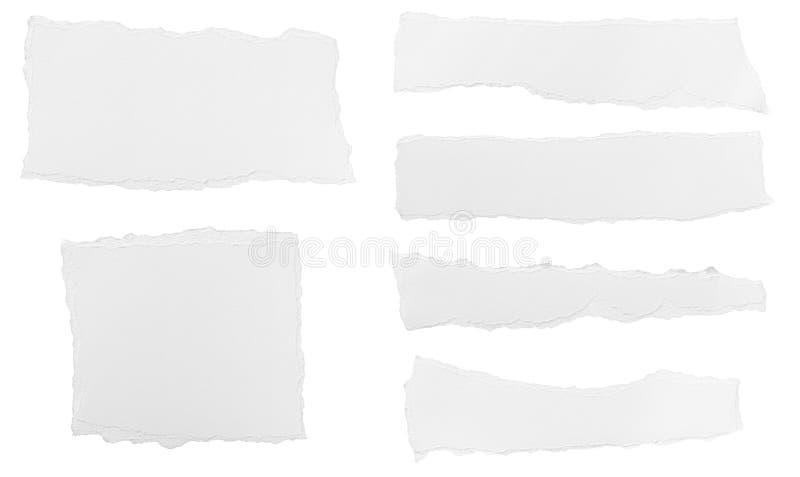 Fondo rasgado del mensaje del Libro Blanco libre illustration