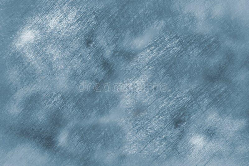 Fondo rasguñado borroso extracto de la superficie del hielo libre illustration