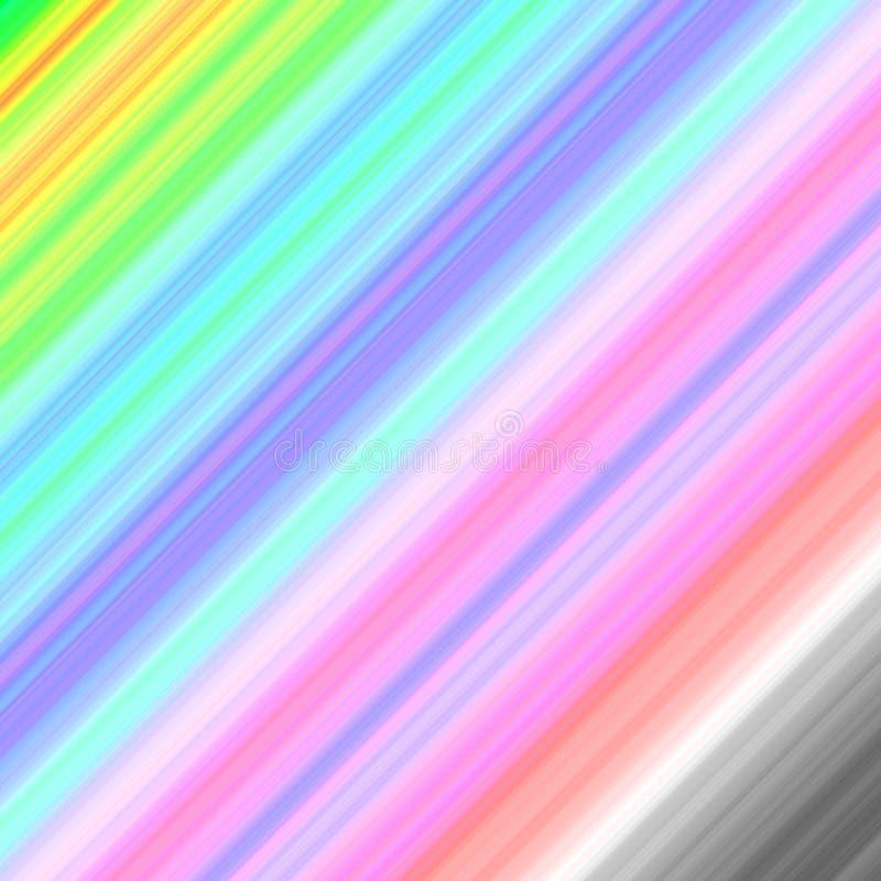 Fondo rayado colorido de la primavera en colores en colores pastel ilustración del vector