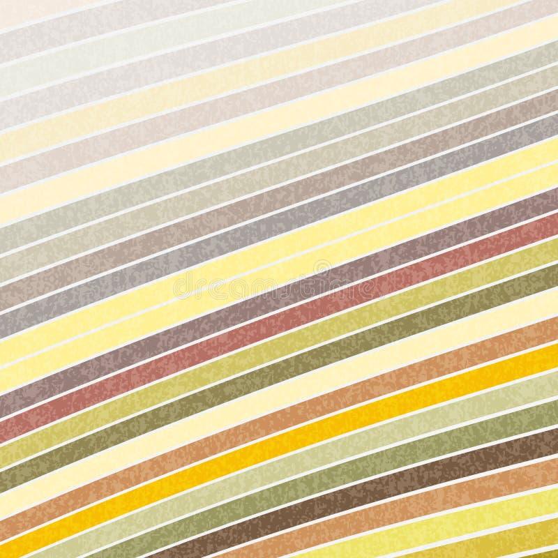 Fondo rayado con las rayas en colores en colores pastel stock de ilustración