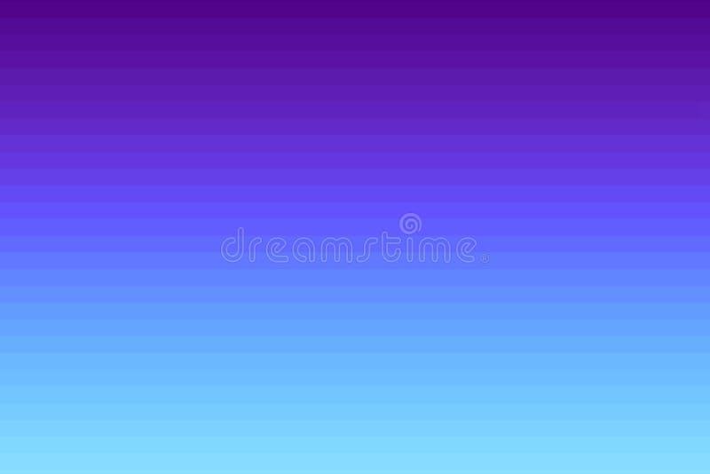 Fondo rayado horizontal púrpura y azul brillante líneas de la pendiente Textura de la interferencia libre illustration