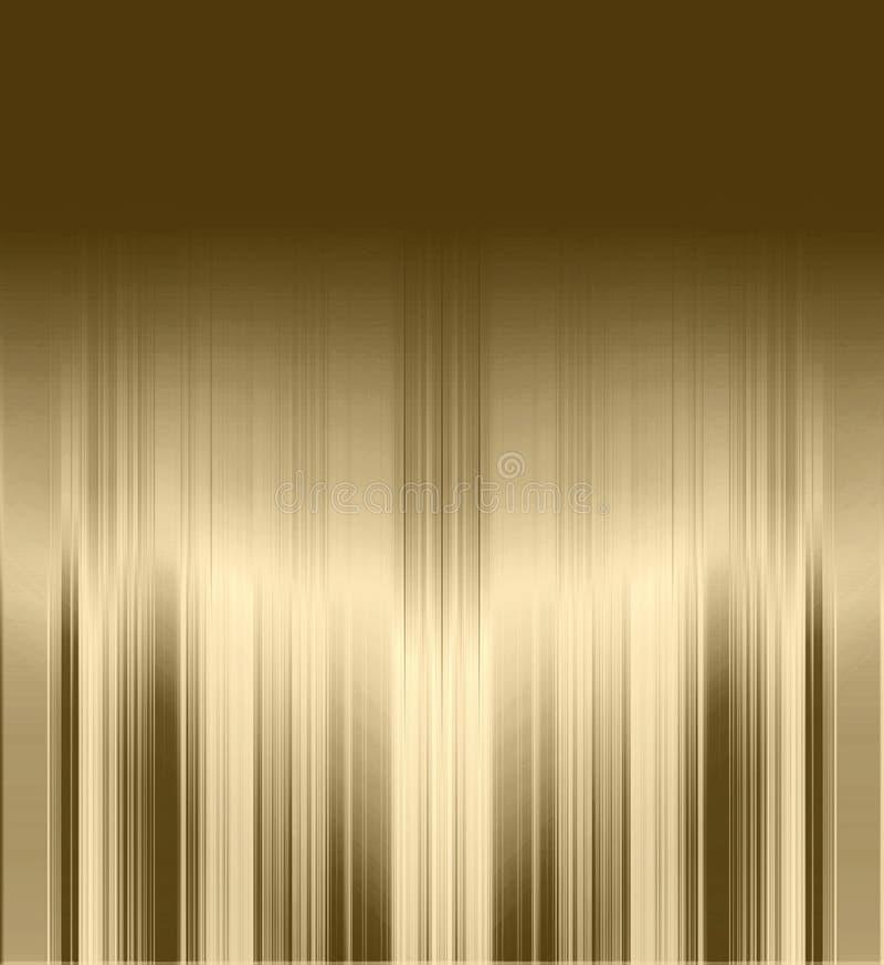 Fondo rayado metálico ilustración del vector