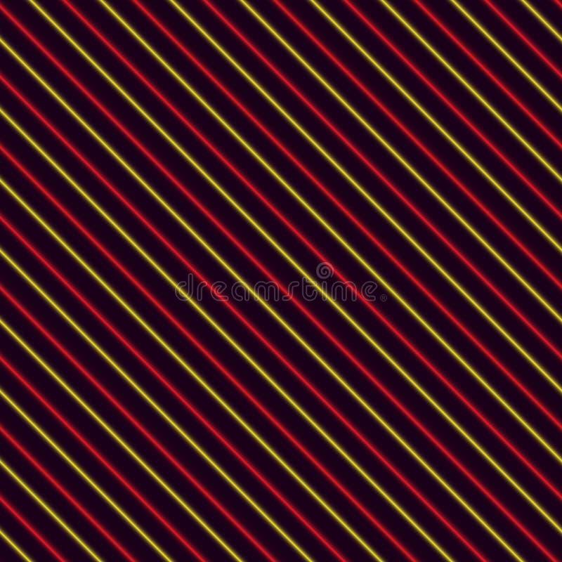 Fondo rayado rojo y amarillo libre illustration