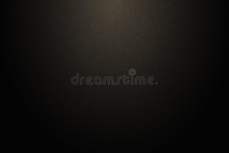 Fondo realista negro simple de la textura de la pendiente: la textura del fondo de la luz de la pendiente del grunge con el espac imagenes de archivo
