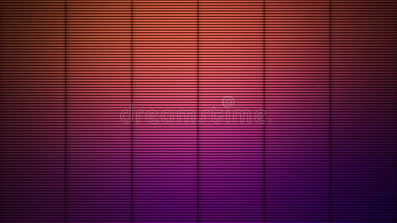 Fondo realistico della barra di metallo Prodotto metallico della cella di prigione del ferro Elemento di disegno illustrazione di stock