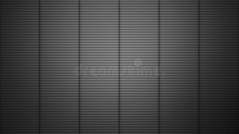 Fondo realistico della barra di metallo Prodotto metallico della cella di prigione del ferro Elemento di disegno illustrazione vettoriale