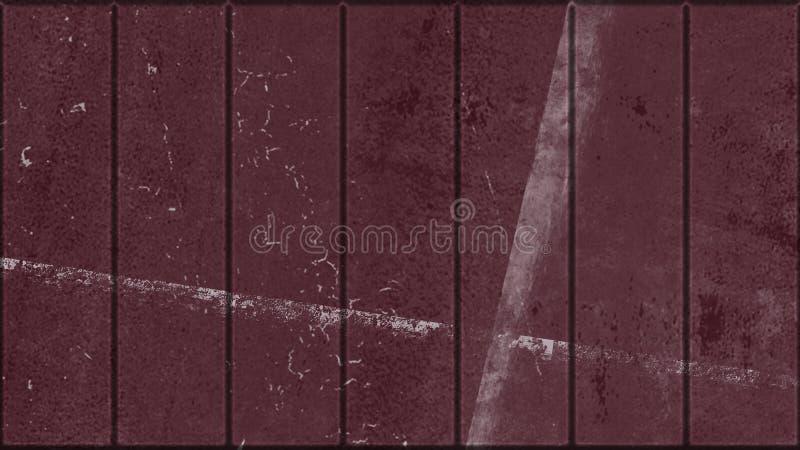 Fondo realistico della barra di metallo Prodotto metallico della cella di prigione del ferro di lerciume Elemento di disegno illustrazione di stock