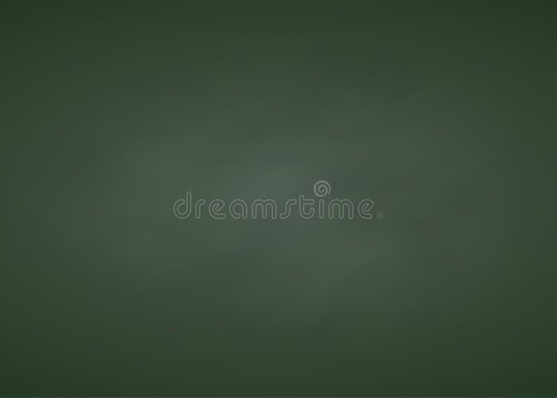 Fondo rectangular de la forma de la pizarra verde fotografía de archivo