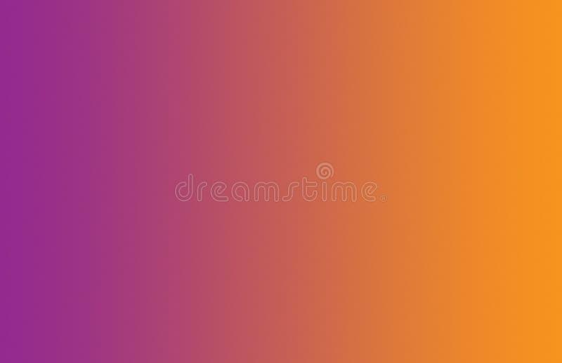 Fondo regolare arancio porpora di pendenza immagini stock